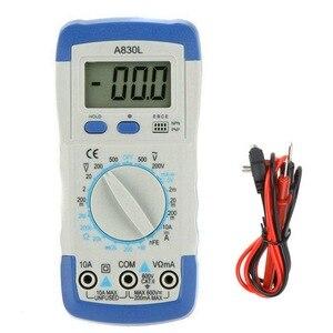 Image 5 - A830L LCD Digital Multimeter DC AC Voltage Diode Freguency Multifunction Volt Tester Test Current Voltmeter Ammeter Meter Gauges