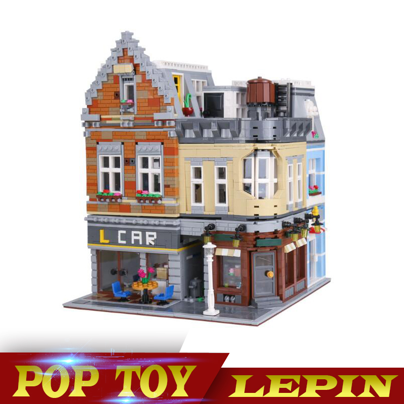 IN Stock LEPIN 15034 4210Pcs MOC Series The New Building City Set Building Blocks Bricks Educational Toys Model As Boy`s Gifts in stock lepin 23015 485pcs science and technology education toys educational building blocks set classic pegasus toys gifts