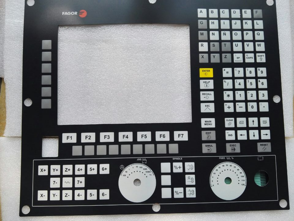 New FAGOR 8055 Membrane Keypad for HMI Panel repair do it yourself New Have in stock