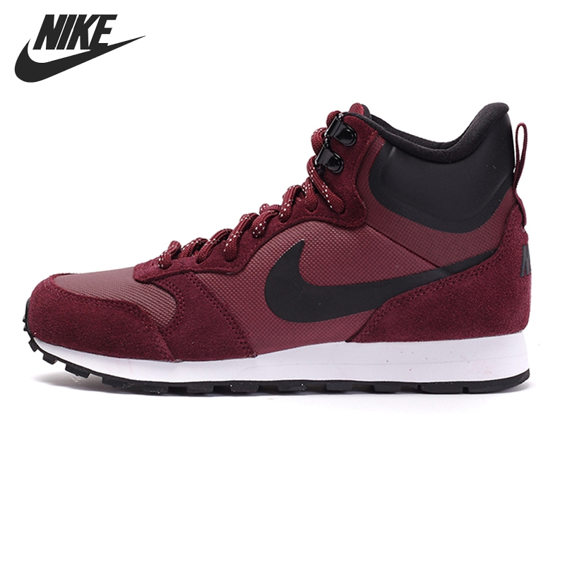 Original NIKE WMNS  MD RUNNER 2 MID PREM Women's  Skateboarding Shoes Sneakers кроссовки nike кроссовки nike md runner 2 749794 410