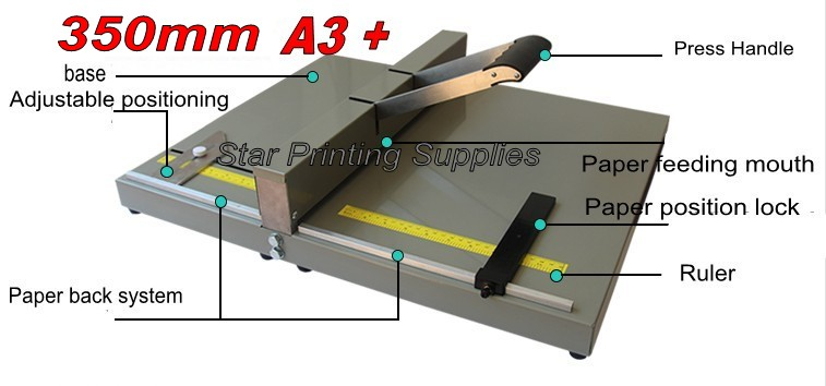 цена на Office Manual Paper Creaser Creasing Machine for Paper Photo Card 350mm Paper Scorer