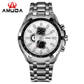 New Brand AMUDA Men Quartz Watches Men Luxury Military Wristwatches Full Steel Sports Watch Waterproof Relogio Masculino