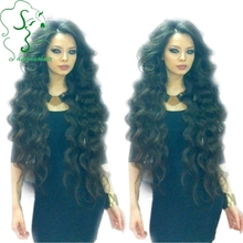 150 Density Full Lace Wig Virgin Brazilian Body Wave Human Hair Wigs/Lace Front Wig With Middle Part Baby Hair For Black Women