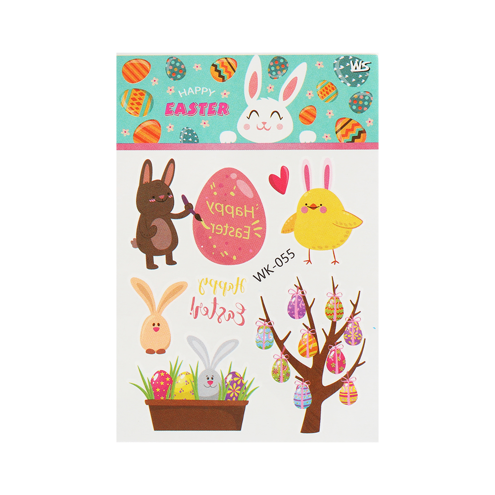 "Sticker /""HAPPY EASTER huevos de oro/"" pegatinas Pascua huevo de Pascua"
