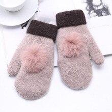 SUOGRY 1 пара, модные женские утепленные вязаные перчатки, вязаные шерстяные перчатки без пальцев, вязаные перчатки, зимние варежки