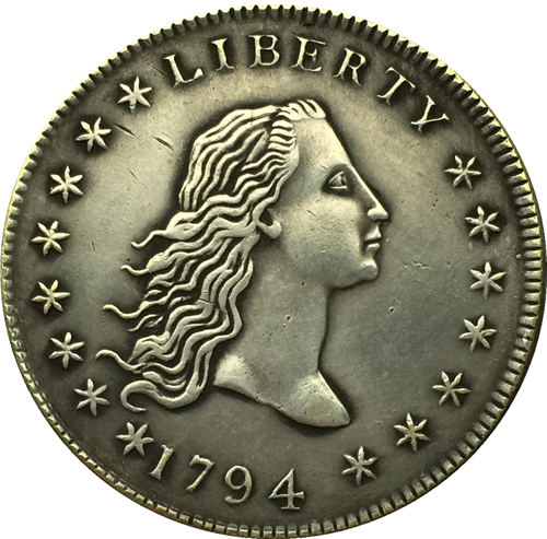 1794 type1 Draped Bust Dollar COIN COPY FREE SHIPPING