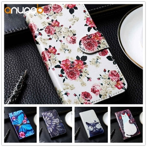 Stand Flip Leather Case For ZTE Blade V10 Vita Case Cover on ZTE Blade V9 V8 V7 Lite V8 Mini Case Cover Coque PU Wallet Bags(China)