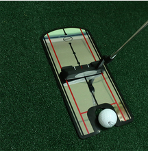 Golf training aids for Golf Putter practice Equipment Golf putting Mirror Posture Alignment Clubs Accessories