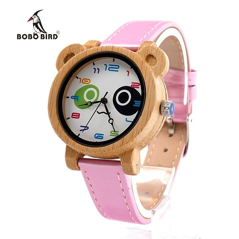 BOBO BIRD Brand Women Watches 2017 Watch Handmade Zebra Wood Wristwatch for Girl Watch relogio feminino C-I14 недорго, оригинальная цена