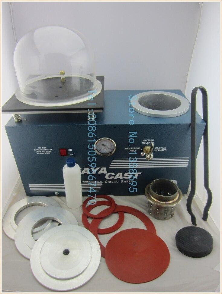 Jewelry Casting & Investing macine, 110v Vacuum Casting Machine