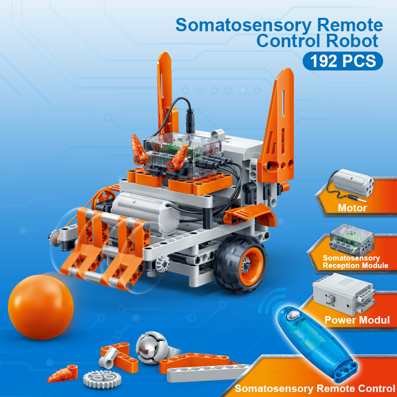 BanBao 6925 Somatosensory RC Motion Sensing Robot