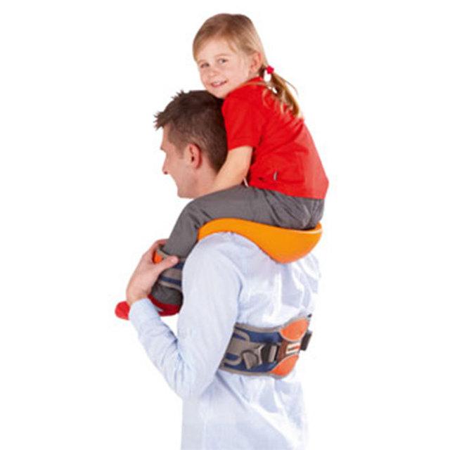 2016 New Style outdoor Portador de Bebê Ombro com Tiras No Tornozelo e Assento Almofadado frete grátis