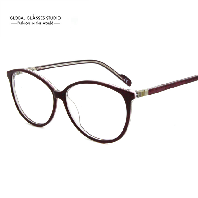 31b5f624b1d Eyeglass Frames Women Designer Eyewear Frame Optical Eye Glasses Frame can  match phototropic lenses MV50450
