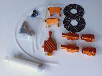 BAJA 5B FRONT Hydraulic brake AluminumHydro Brake Kit HPI KM ROVAN