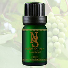 Grape Seed Oil Base 10ml Fresh Light Green Massage Face Care Anti-Aging DIY Raw Materials for Beauty Free Shippng