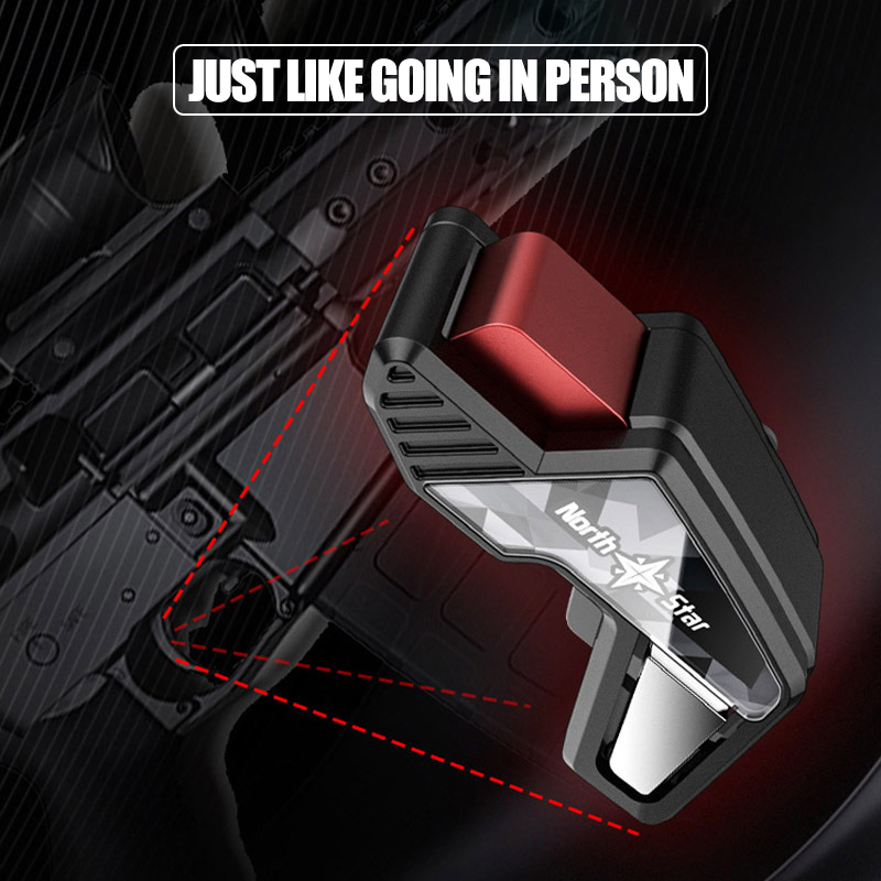 Image 3 - S8 PUBG Smartphone Game Controller  joystick Fast Shooting Trigger Aim Button L1 R1 Key For Pugb Mobile Game For xiaomi iphone-in Gamepads from Consumer Electronics