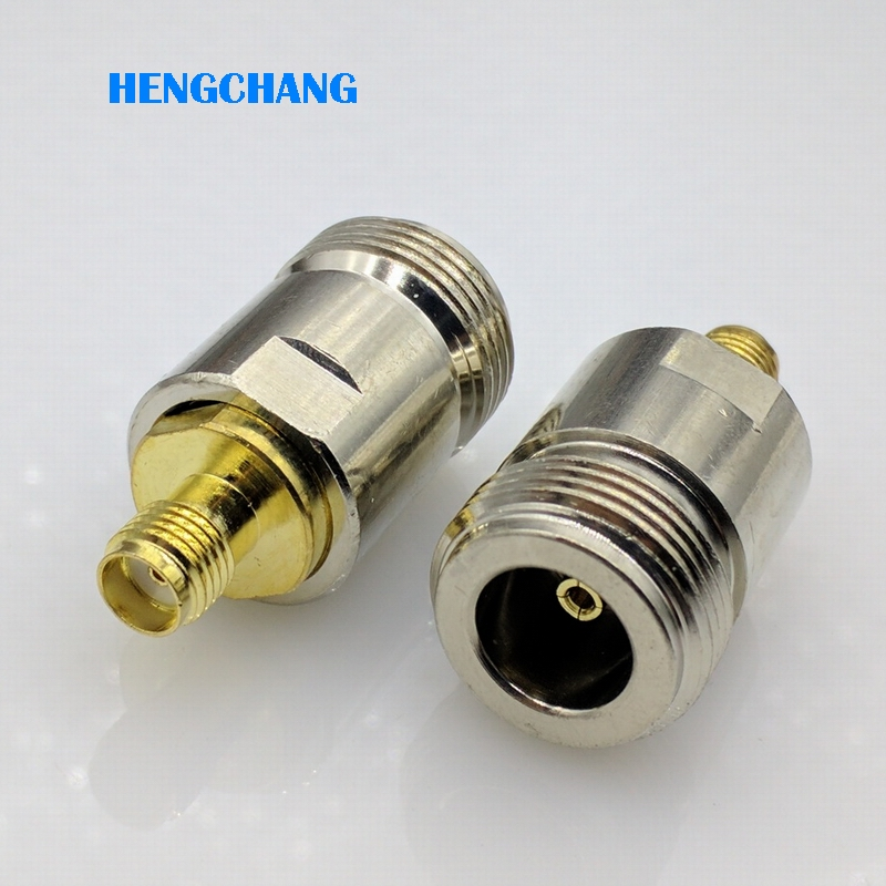 Free shipping L16 N-Type N Female to SMA Female RF Coaxial Connector sma to N Adapter 1pcs rf adapter n type n male plug to 2 n female 3 way t type long version connector