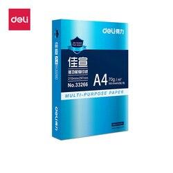 DELI A4 papel escuela Oficina copia papel para Imprimir copia 70g blanco 500 hojas Oficina copia impresora papel escuela Oficina suministros