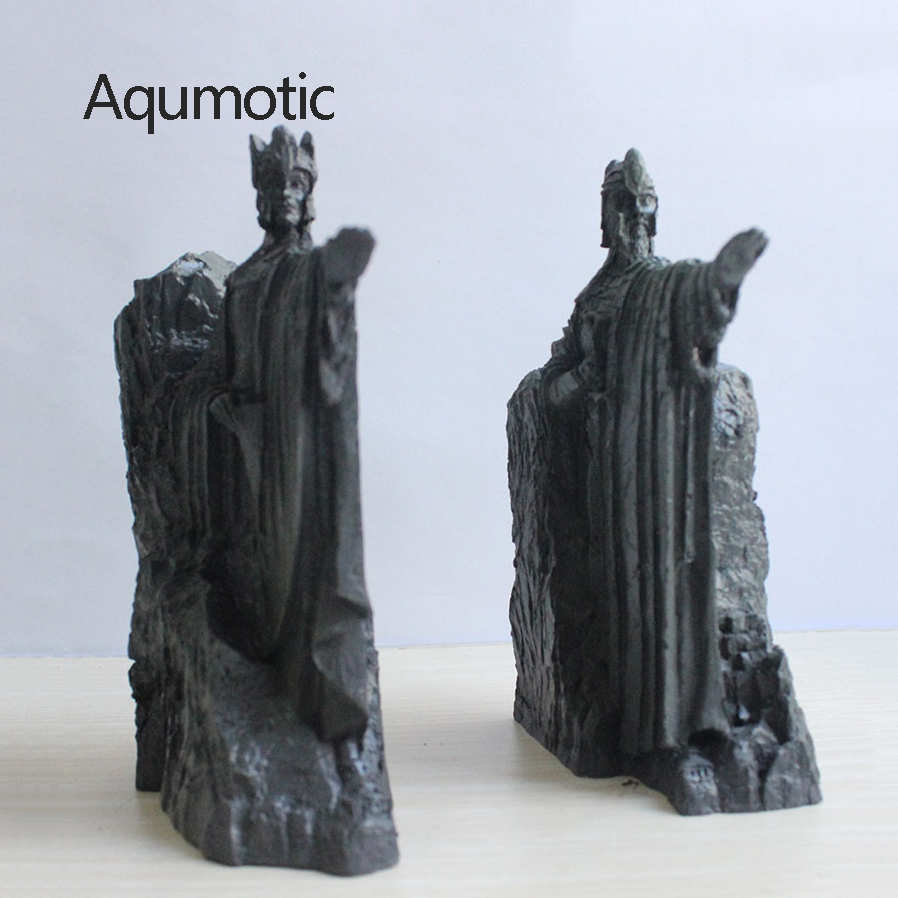 Serre-livres aqumotiques Gangyan porte Ajanas Statue décoration paire livre fichier serre-livres le Film entourant le modèle mythique décoration