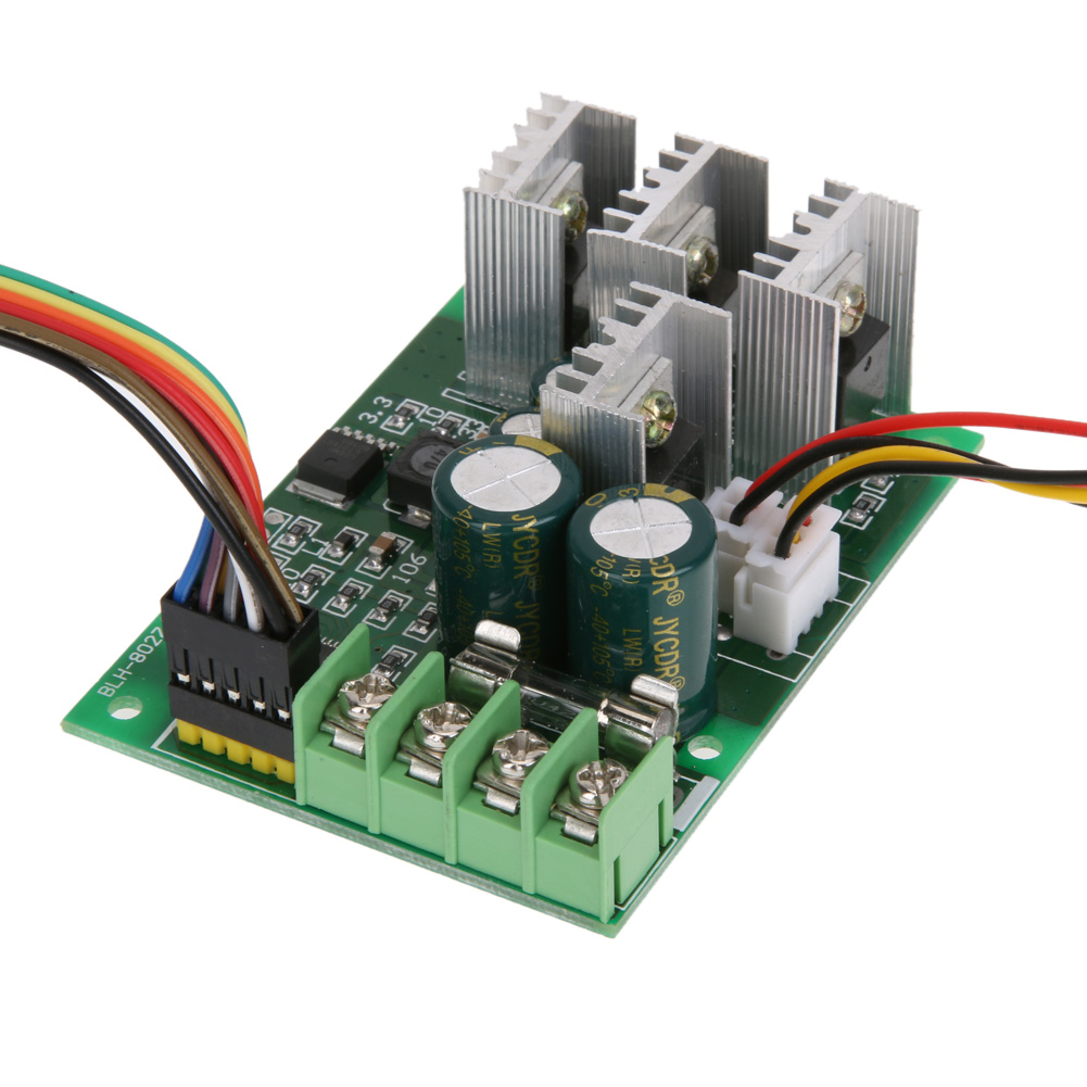 Ac 6 60v Pwm Dc Governor Digital Motor Controller Diy