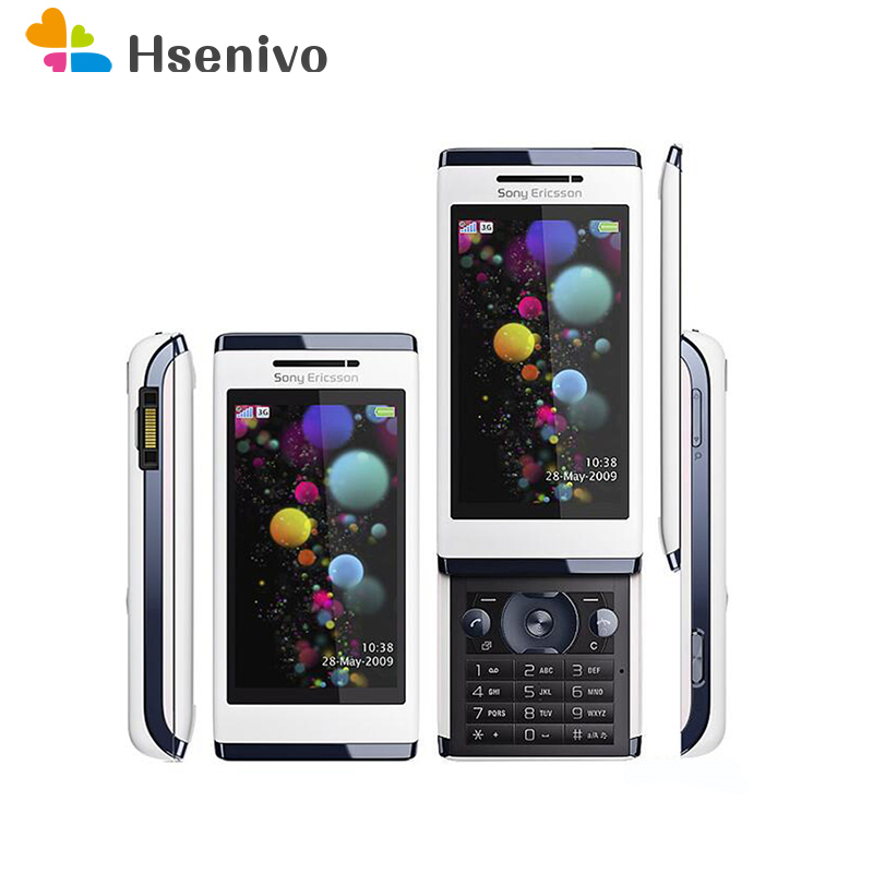 U10i Original Sony Ericsson Aino u10 Mobile Phone 3G 8.1MP WIFI GPS Bluetooth Unlocked U10 Cellphone Russian Keyboard Free ship feature phone