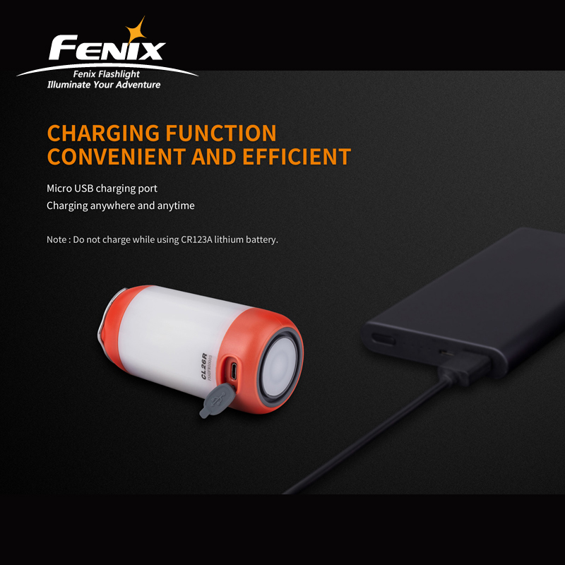 Image 5 - New Arrival Fenix CL26R High performance Micro USB Rechargeable Camping Lantern with Free 18650 Li on Battery-in Portable Lanterns from Lights & Lighting