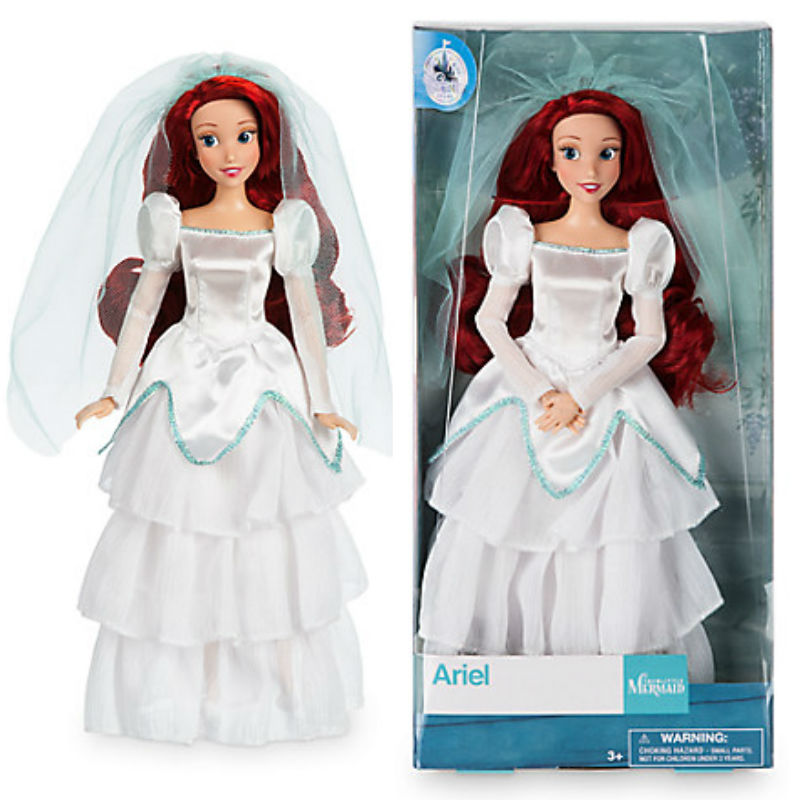 The Little Mermaid Ariel Wedding Dress Classic Doll 12\