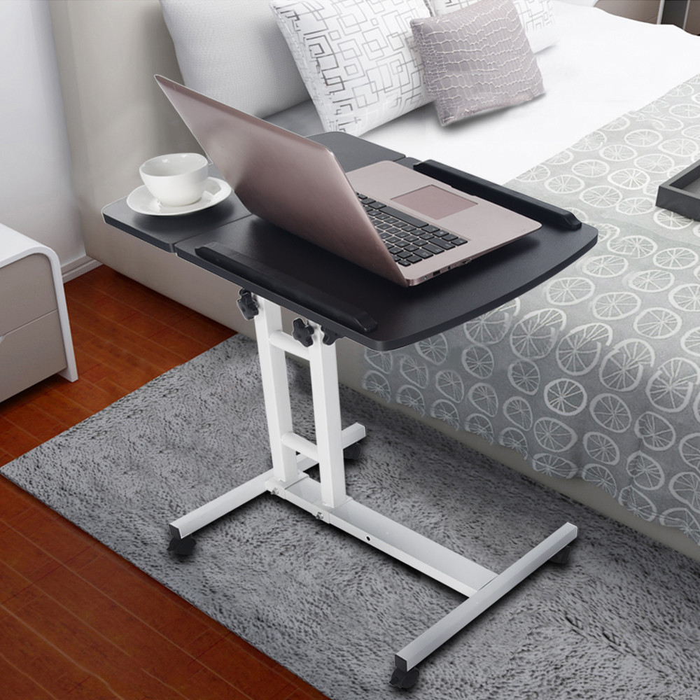 64x40cm Household Foldable Computer Desk Portable Adjustable Laptop Notebook Lap PC Folding Desk Table Stand Bed Tray Sofa Bed
