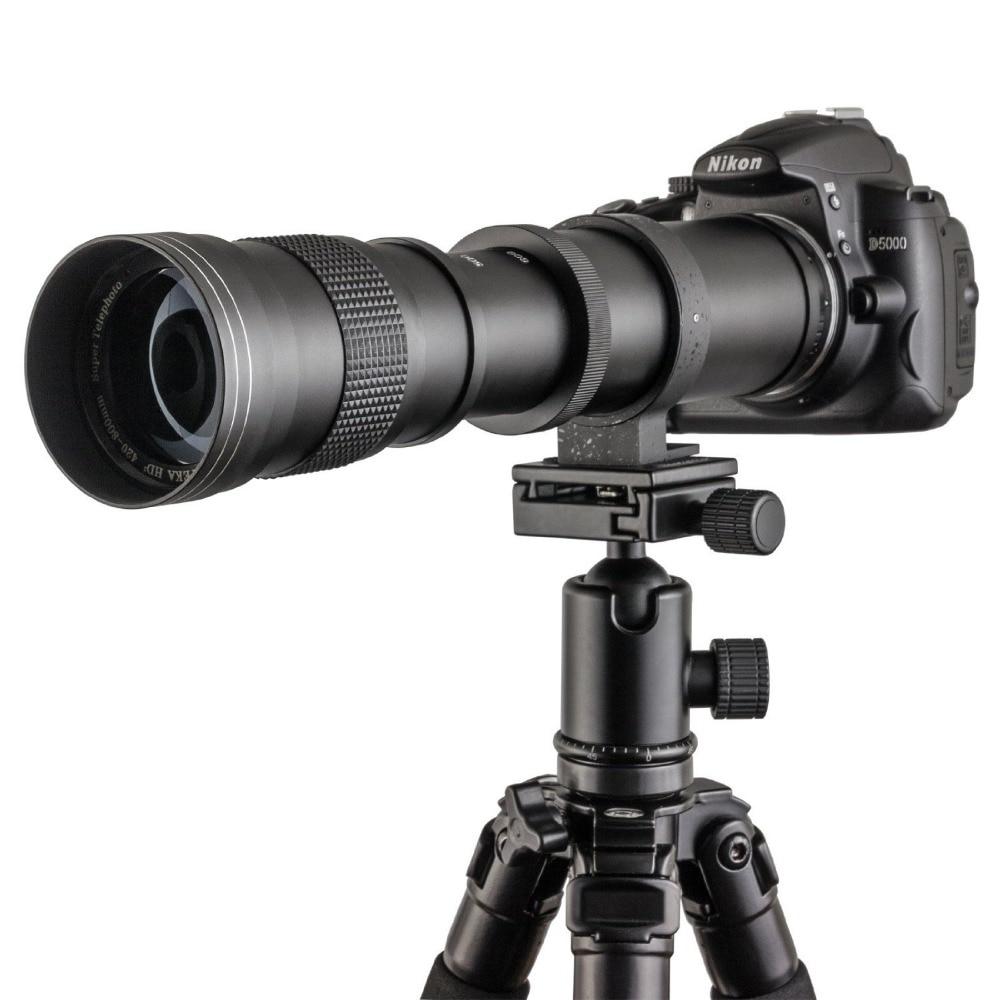 Lightdow 420-800mm F / 8.3-16 Nikel D5100 D7000 D800 D90 D600 üçün - Kamera və foto - Fotoqrafiya 4