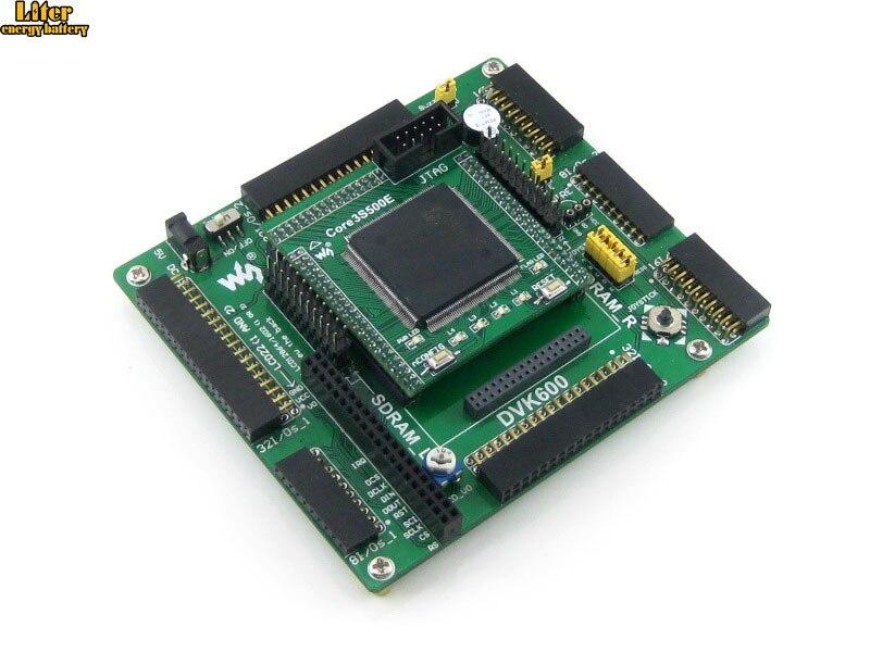 XILINX FPGA Development Board Xilinx Spartan-3E XC3S500E Evaluation Kit+DVK600+ XC3S500E Core Kit = Open3S500E StandardXILINX FPGA Development Board Xilinx Spartan-3E XC3S500E Evaluation Kit+DVK600+ XC3S500E Core Kit = Open3S500E Standard