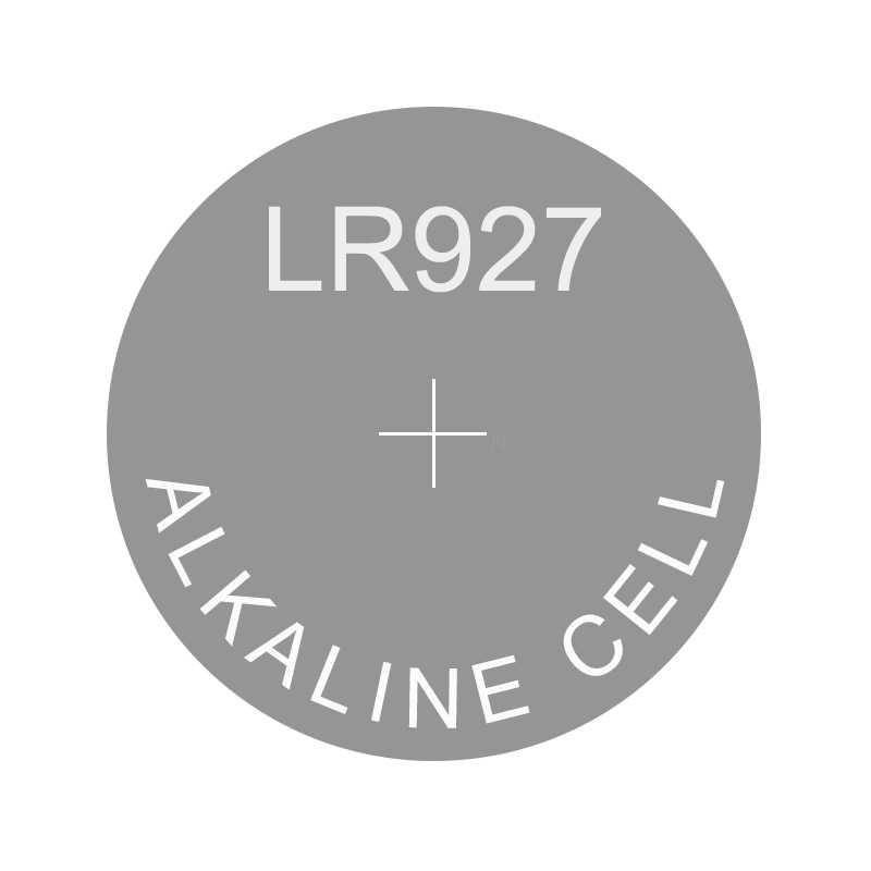 Pila de botón alcalina LR927, repuesto AG7 195 395 399 395A GR927 L926 LR57 LR926 RW413 SG7 SR57 SR926 SR927 SR927SW SR927W