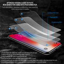 Rock 3D Curved Hydrogel Screen Protector for iPhone X/Xs