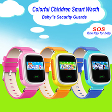 10pc/lot Children Smart Watch Q60 SOS Call Location Finder Locator Tracker for Kid Safe Anti Lost for iphone xiaomi phones