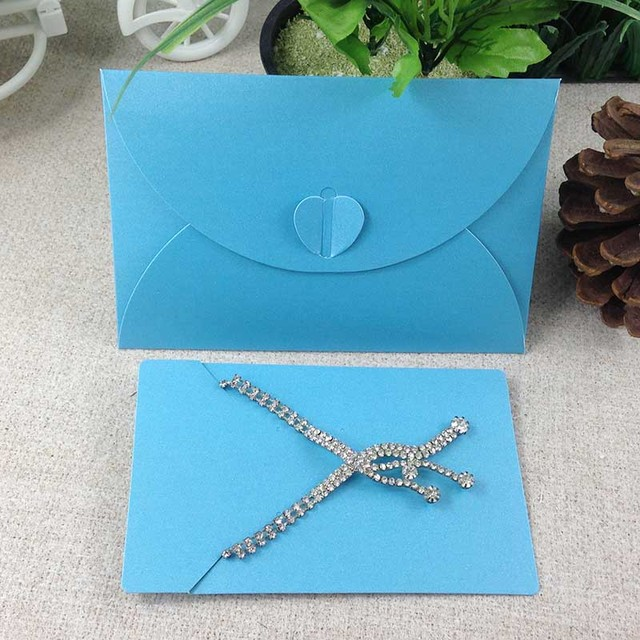 8colors High Cl Paper Jewelry Ng Necklace Earring Display Envelope With Card Inside Wedding Invitation