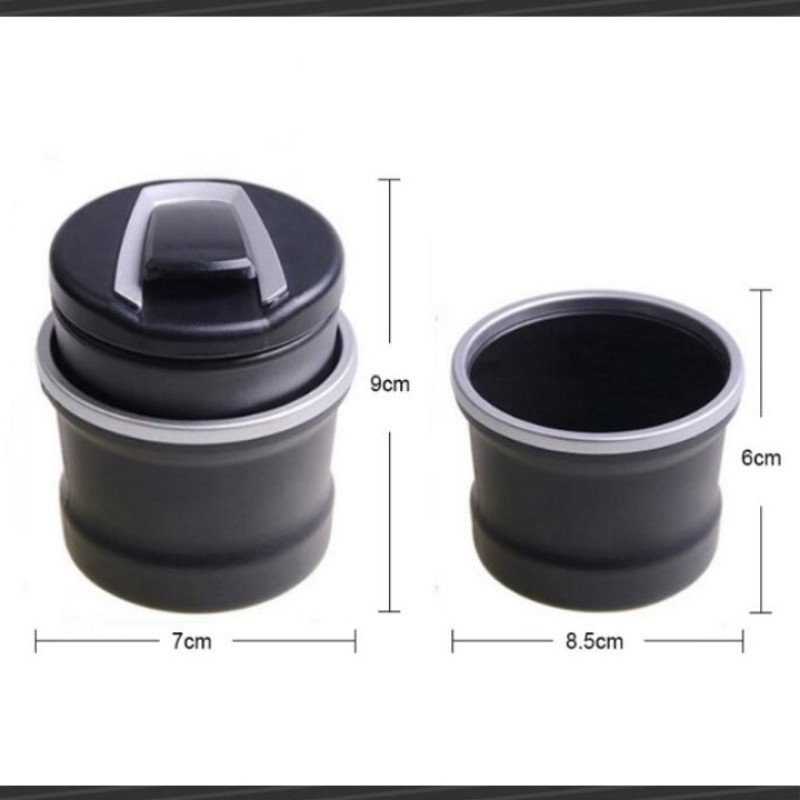 Image 2 - 2019 New Style Car Portable Car Ashtray FOR kia ceed ford focus 3 opel astra h lada vesta solaris lada kia toyota Accessories-in Car Tax Disc Holders from Automobiles & Motorcycles