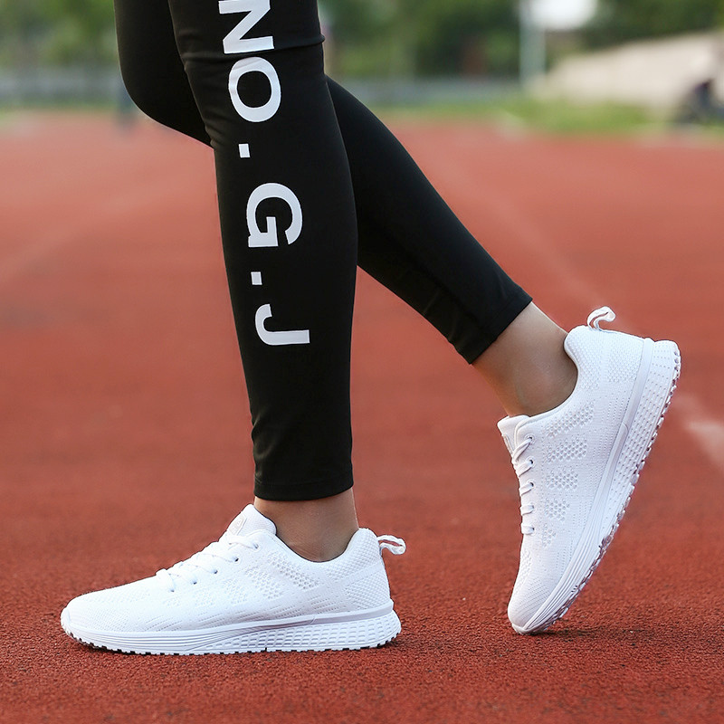 Air Cushion Original Breathable Sneakers Women Summer Springs Athletic Outdoor Sports Entertainment Shoes Women Running Shoes 28
