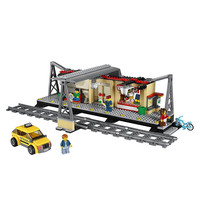 LEPIN City Train Station Building Blocks Sets Bricks Classic Model Kids Toys For Children Technic Gift
