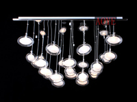 55 55 Cm G4 Halogen Tungsten Lamp LED Lights Optional Adjustable Suction A Top Catenarian Dome