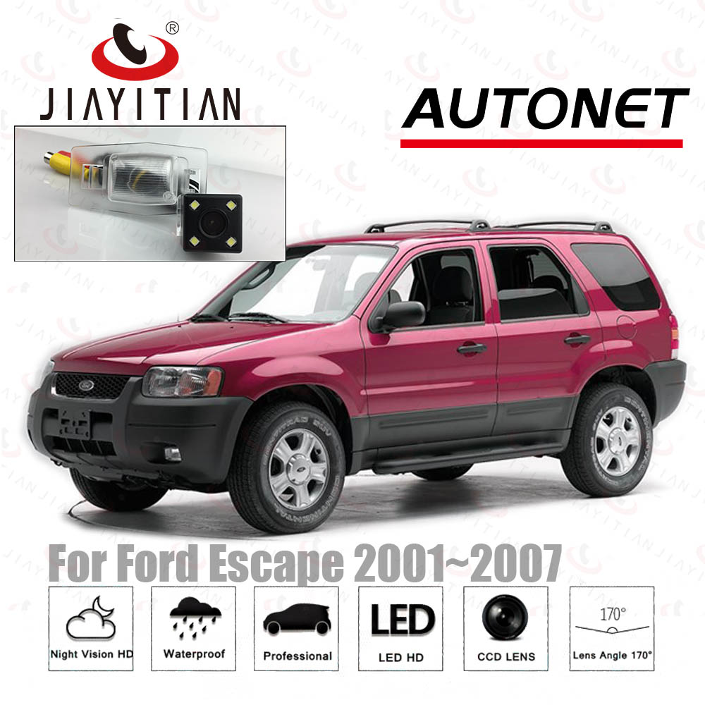 JIAYITIAN Rear View Camera For Ford Escape 2000 2002 2004 2006 2007 CCD/Night Vision/Reverse Camera/Backup license plate camera title=