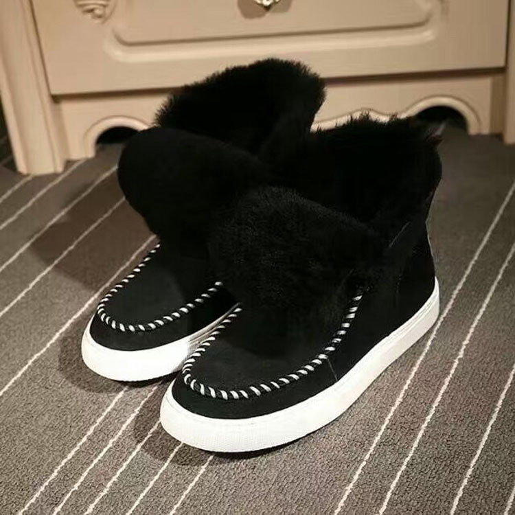 High Quality Women Boots Snow Warm Winter Boots Botas Mujer Fur Ankle Boots Ladies Winter Shoes 4 Colors Avalible