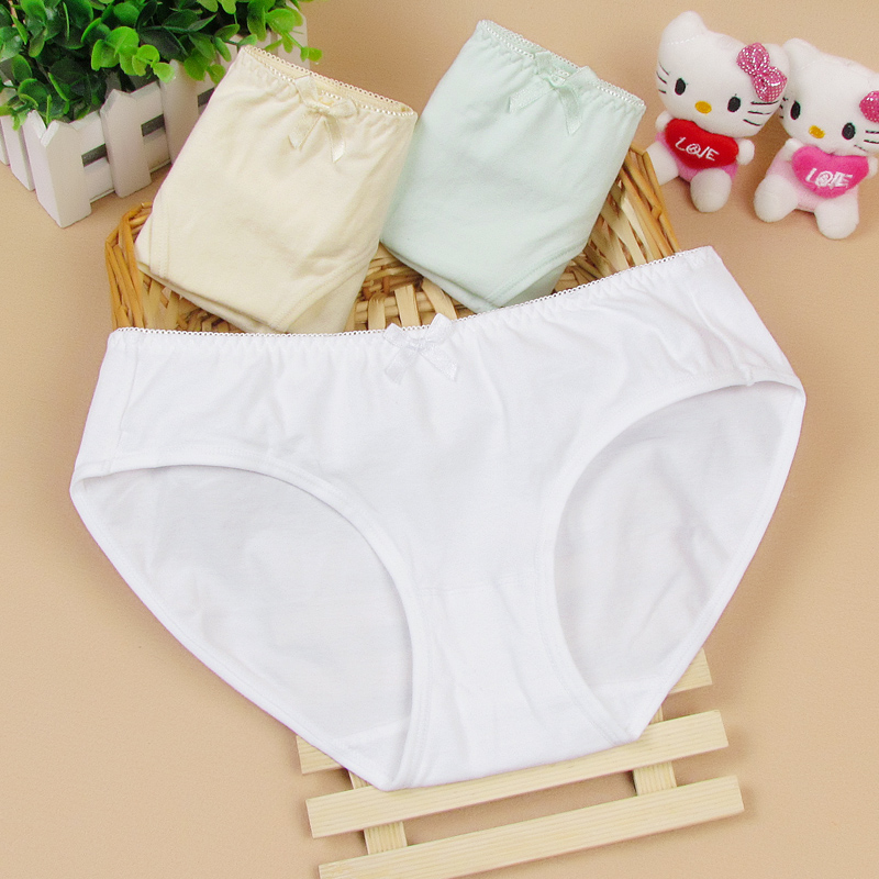 fb3645b75a50 2017 Free Shipping Feichangzimei Teenage Girl Underwear Panties For 12 Year  to 18 Year Old Young Girls 100194 W-in Panties from Mother & Kids on ...