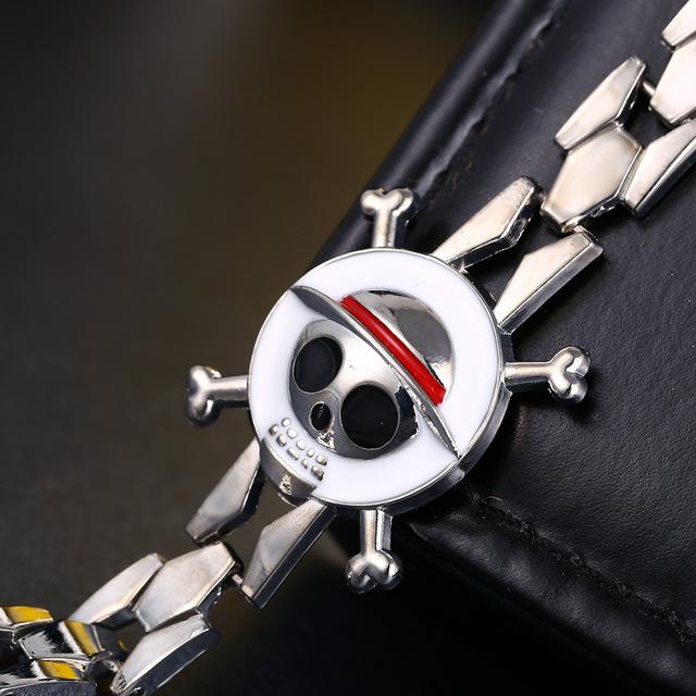 One Piece The Straw Hat Pirates Alloy Bracelet