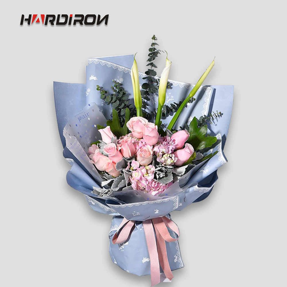 HARDIRON Rabbit Flower Packaging Paper Packaging Material Paper Upscale Florist Supplies Floral Gift Wrapping Paper