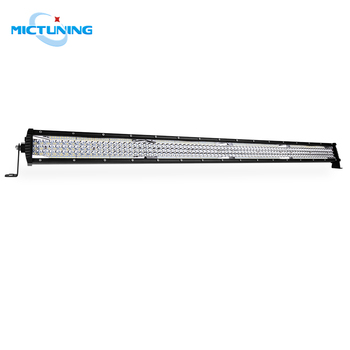 "MICTUNING 42"" Five Row Spot Flood Combo LED Bar LED Light Bar LED Work Light for Offroad 4WD Truck Tractor Boat Trailer 4x4 SUV"