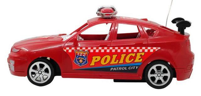 Дети Электрические игрушки Головоломки автомобиля Управления По Радио Автомобили полиции авто гонки мальчик подарок к празднику