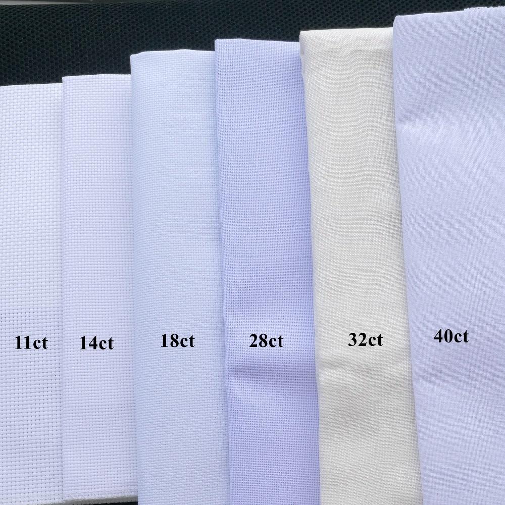 Aida 18ct Cross Stitch Fabric Canvas DIY Craft Needlework Embroidery Supplies