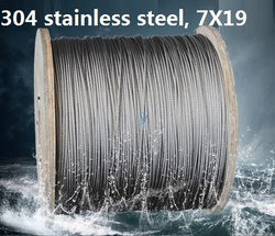 1,2, 1,5, 2, 2,5, 3 MM 10 Mt, 7X19, 304 edelstahl drahtseil weicher angeln kabel wäscheleine zugseil hebe lasch st