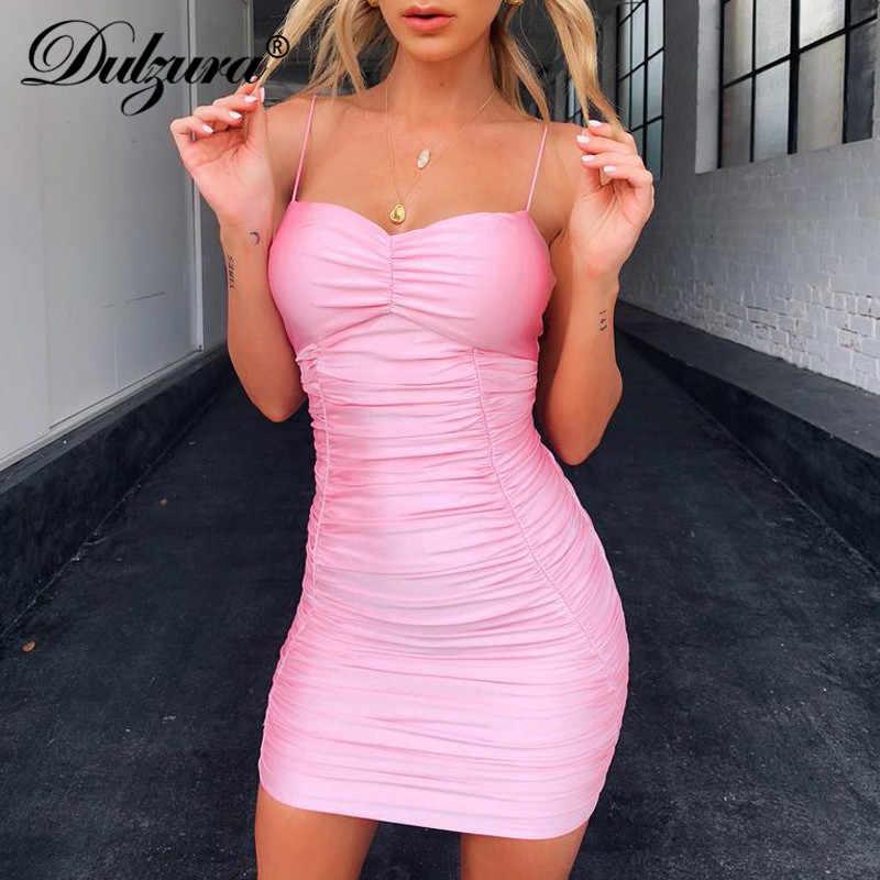 Dulzura 2019 летнее женское платье на бретельках с открытой спиной, вечернее платье, облегающее элегантное платье с оборками, праздничное платье в стиле пэчворк, большие размеры