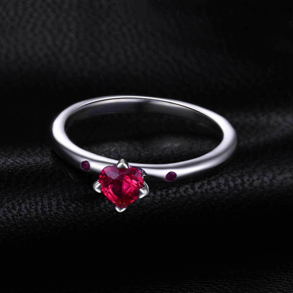 63d5df08f ... Jewelrypalace 925 Sterling Silver Sincere Love Scarlet Created Rubies  Solitare Ring Engagement Ring Women Jewelry Gifts ...