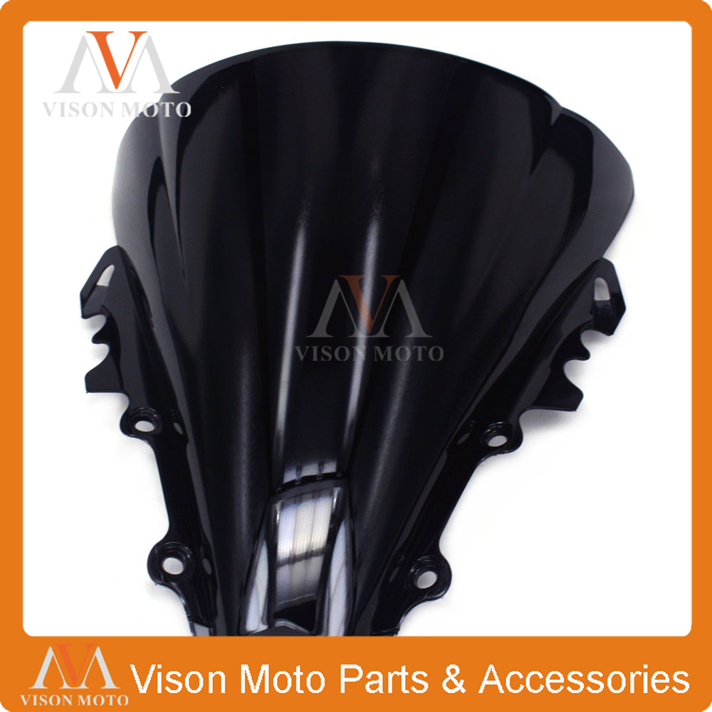 Motorcycle Winshield windscreen For YAMAHA YZFR6 YZF R6 YZF-R6 2006 2007 06 07 zero gravity sr series windscreen for 2006 2009 yamaha fz1